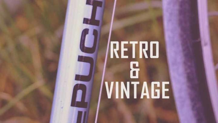 Retro Vintage Singlespeed Räder