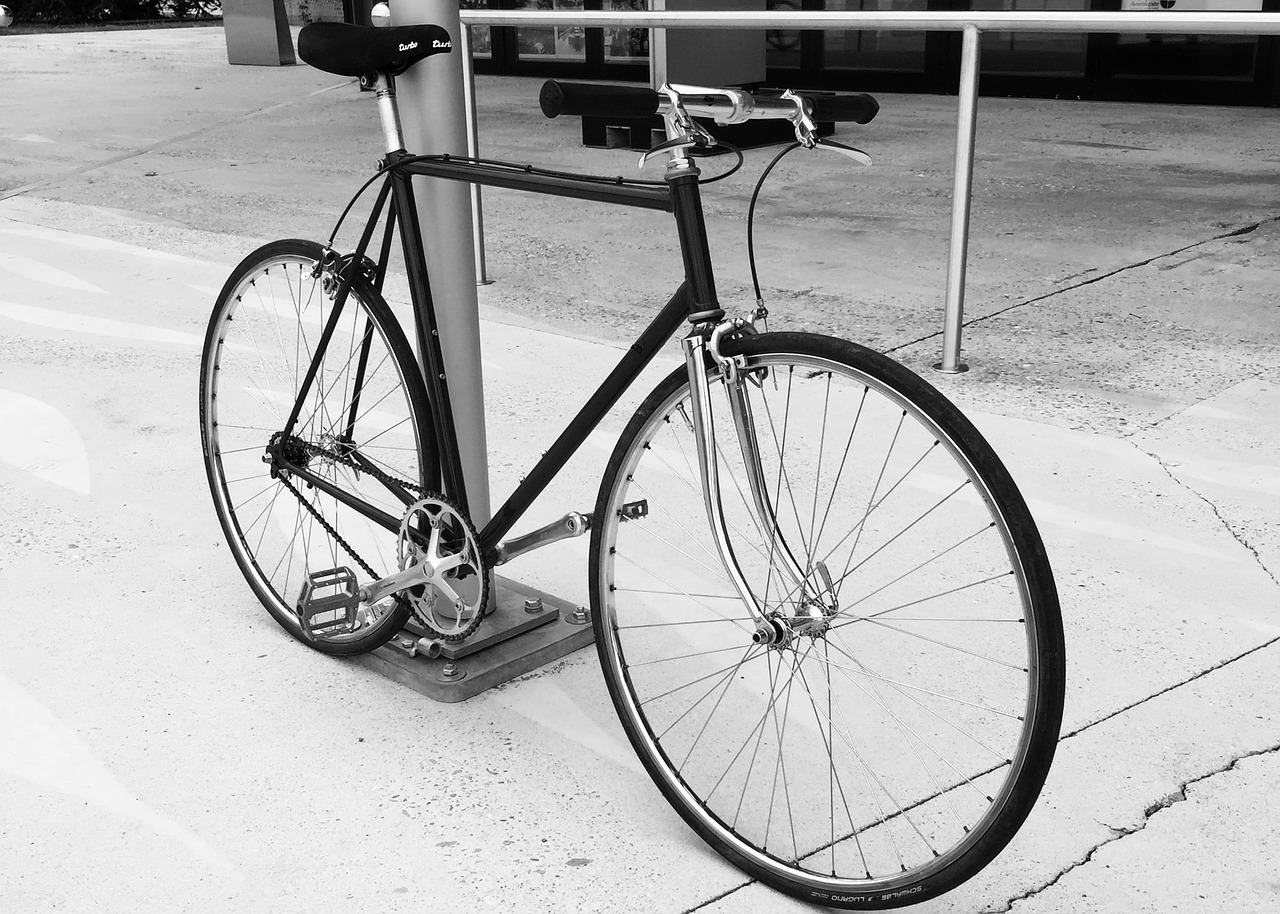 vintage retro singlespeed fixie