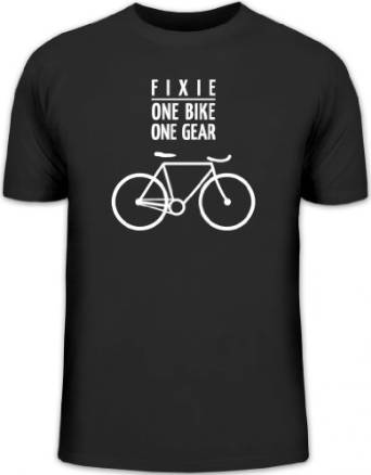 singlespeed fixed gear tshirt