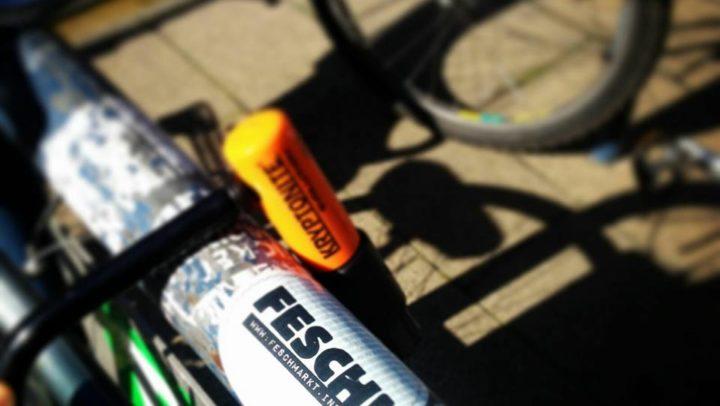 Das sicherste Fahrradschloss für Dein Singlespeed / Fixie Fahrrad